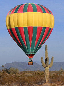 Balloon flights in Phoenix